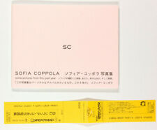 SOFIA COPPOLA Kristen Dunst SPIKE JONZE ~ Some Pictures From This Past Year BOOK