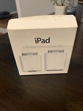 Unopened Apple iPad Camera Connection Kit MC531ZM/A Model A-1362 A-1358