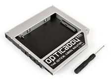 Opticaddy SATA-3 second HDD/SSD Caddy for HP EliteBook 8460p 8460w 8470p 8470w