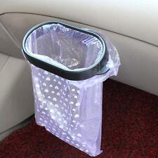 Kitchen Car Rubbish Bag Plastic Clip Vehicle Garbage Bags Pasted Holder Black