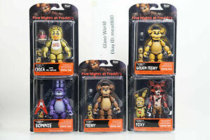 """Funko Five Nights At Freddy's Articulate Action 5"""" Figures FNAF (Spring Trap)"""