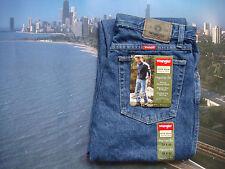 Wrangler Herren-Straight-Cut-Jeans niedriger Bundhöhe (en)
