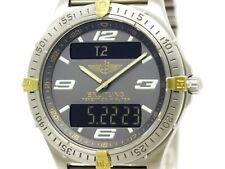 BREITLING Aerospace Gold Titanium Mens Watch F65062 (BF305277)