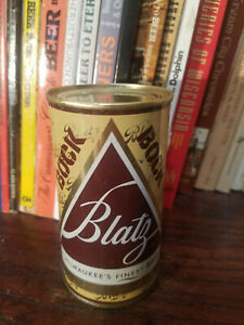 Blatz BOCK 12oz Flat Top Beer Can  High Grade!