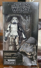 "STAR WARS MIMBAN STORMTROOPER 6"" Inch BLACK SERIES WAL-MART EXCLUSIVE"