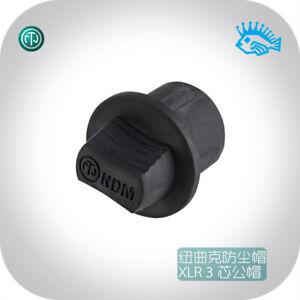 NEUTRIK NDM dust and moisture proof black rubber plug XLR male base dust cover