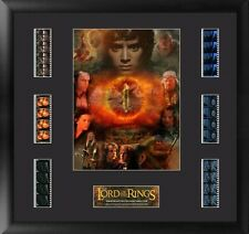 Film Cell Genuine 35mm Framed & Matted The Lord of the Rings Mixed Montage 6013