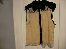 lace look top size 18
