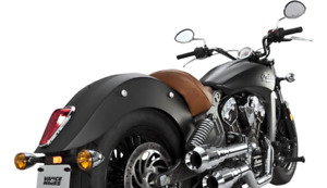 Vance & Hines 18564 Hi-Output Grenades 2-Into-2 Exhaust Chrome Indian Scout 15-2
