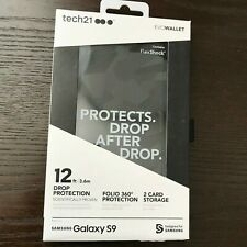 Tech21 Evo Wallet Case Credit Card Storage for Samsung Galaxy S9 -OEM Brand New