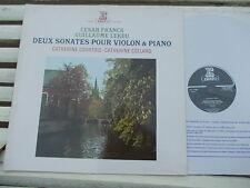 FRANCK + LEKEU: Violin & Piano sonatas > Courtois Collard / Erato France stereo