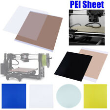 3D Printing PEI Sheet ABS PLA Build Surface w/ 468MP Adhesive Tape fr 3D Printer