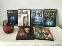 Lot of 5 Horror DVDs The Ring, Into the Woods, Interview w the Vampire, Saw ll