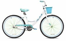 Womens Cruiser Bike 26 Lightweight Aluminum Frame White Beach Bicycle