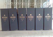 Johnnie Walker Blue label boxes