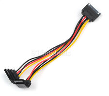 20CM SATA Power 15pin Y Splitter Cable Adapter Male to Female for HDD Hard Drive