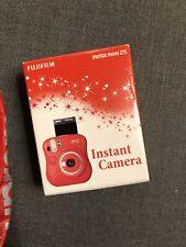 fujifilm instax mini 25 Red Camera Limited Edition New