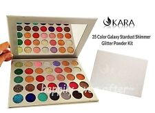 KARA Beauty 35 Color Galaxy Stardust Shimmer Glitter Powder Kit- Authentic & NEW