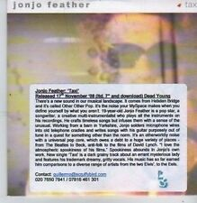 (CB205) Jonjo Feather, Taxi - 2008 DJ CD