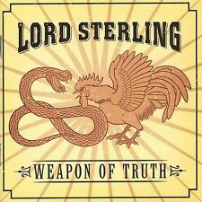 FREE US SHIP. on ANY 2 CDs! ~LikeNew CD Lord Sterling: Weapon of Truth