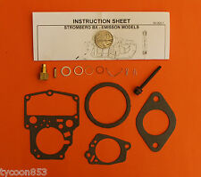 CARBURETTOR CARBY KIT STROMBERG BX SUIT HOLDEN HX HZ + VB + TORANA LX UC