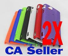 New 2X Mesh Net Rubber Hard Case Sony Ericsson XPERIA Arc X12