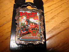 Walt Disney World RAILROAD Attraction POSTER Pin Limited Edition 500 Pin *NEW*