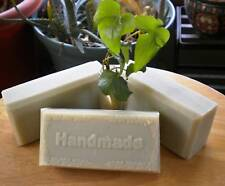 ACNE OILY SKIN  TEA TREE PEPPERMINT FRENCH CLAY 3 SOAPS