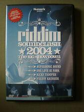 RIDDIM Soundclash 2004 DVD 220 Min Dancehall Supersonic Dancehall Roots Culture