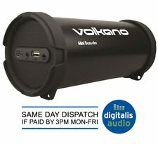 Volkano Mini Bazooka Portable Bluetooth Speaker, Subwoofer FM Radio &amp USB