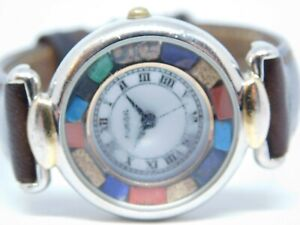 Fossil ES-8585 Genuine Leather Quartz Analog Ladies Watch