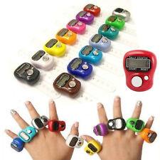 2 pcs Mini LCD Electronic Digital Golf Finger Hand Ring Tally Stroke Counter