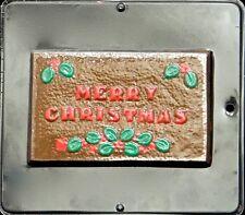 Christmas Card Chocolate Candy Mold Christmas 2016 NEW