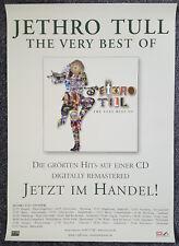 Jethro Tull Promo  Poster - The Very Best Of GER 2001 + Tourdaten 83,5 x 59,3 cm