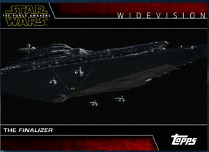 Topps Star War Card Trader Widevision Kylo Ren's Finalizer The Force Awakens