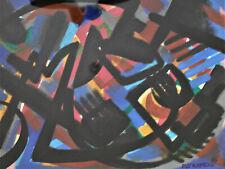 Raymond TRAMEAU technique mixte sur carton. v970