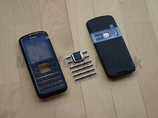 Original Nokia 6080 komplett Cover | Akkudeckel | Tastatur in Schwarz Gold NEU