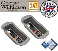 2 x George Wilkinson Progress Seamless 1lb 450g Non Stick Loaf Bread Cake Tin