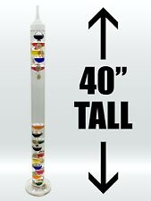 "Galileo Thermometer (40"" Tall)"