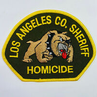 Los Angeles County Sheriff Homicide California CA Patch (B1)