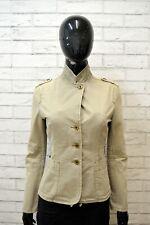 Giacca ARMANI JEANS Donna Taglia Size S Jacket Woman Giubbotto Jacket Cotone