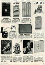 1942 ADVERT Touch Tip Ronson Nautical Ships Wheel Cigarette Lighter