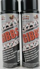 2 Pack -New Gibbs Brand Lubricant -Mega/Ultra/Crrosion Inhibitor/Water Repellent