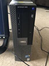 DELL Optiplex 960 PC Desktop con monitor