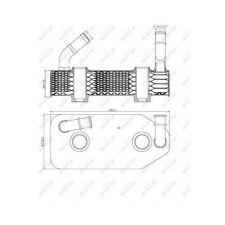Nrf refrigerador del aceite aceite del motor para audi skoda seat 2614825