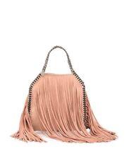 65%Off! NWT Stella McCartney Falabella Mini Fringe Tote Bag, Powder $1,565