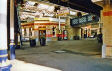 PHOTO  LEWES RAILWAY STATION 2000: LOWER CIRCULATING AREA VIEW FROM BRIGHTON LIN