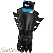 Child Batman Dark Knight Gauntlet Gloves Halloween Fancy Dress Costume Accessory