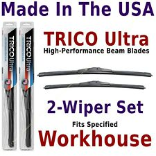 Buy American: TRICO Ultra 2-Wipers Set fits listed Workhouse Work Horse 13-16-16
