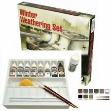 AV Vallejo Winter Weathering Set Acrylic Paint Set For Models